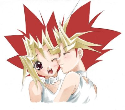 happy B's day for yugi+yami by houseki-hime