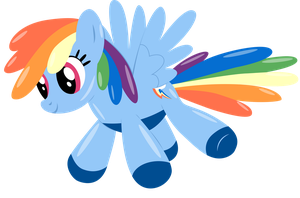 Rainbow Dash Balloon by Stainless33