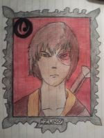 Attempt at Zuko - Avatar by Devynae