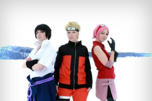 NARUTO - Team 7 by Mimixum