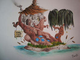 Little Swamp House by PorkLord