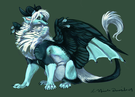 Kitoxa speed paint by thornwolf