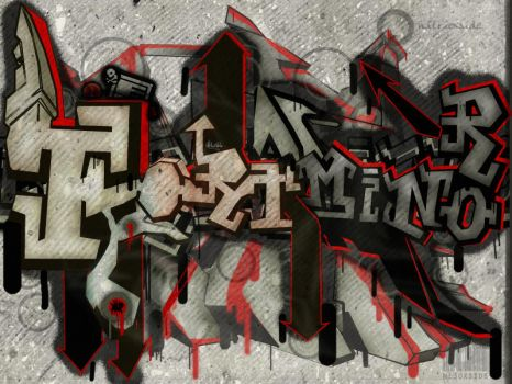 Fort Minor Graffiti by ni3oxside