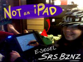 Not an iPad by FablePaint
