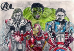 Marvel - The Avengers by kill312