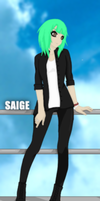 Oc Saige by xthe-wandering-soulx