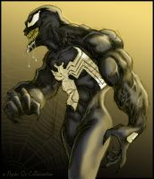 Venom Collaboration by PsychoSlaughterman