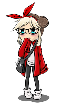 Little one in Red by Nuit-Luna
