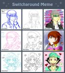 Switcharound Meme - P4AU Edition by doggyfong007