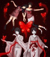 Fatal Frame II Crimson Butterflies Tribute by DothackerDiann