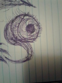 weird thing I drew in class  by OnyxKiller