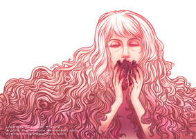 Sweet Nothing Hearts by Wynta-Illustrations
