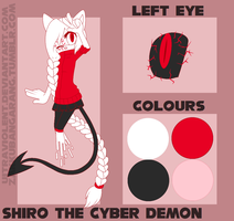 Shiro the Cyber Demon // Reference by UItraviolent