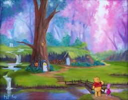 100 acre woods by imagesource