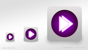 Video Clip Icon by uuryilmaz