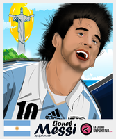Lionel Messi - Argentina by al3ameed1927