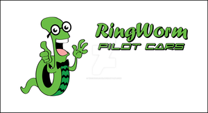 Ring Worm Mascot Final by woohooligan