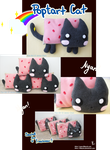 Pop tart Cat Plushies by Mikochi
