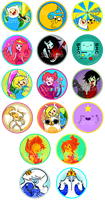 What time is it? BUTTON TIME! by AlyssaTye