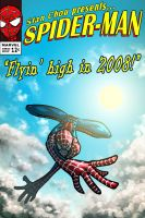 Spiderman Welcomes 2008 by ryuzo