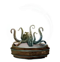 Octopus Globe by chamirra