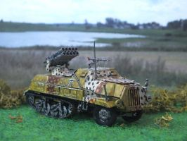 Roden Panzerwerfer 42 by Baryonyx62
