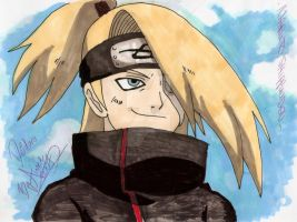 Deidara Funny Pic by Dark-Angel15-2010