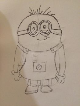 Sketch of Minion by minty42