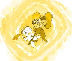 Parappa vs Toro by Shynox