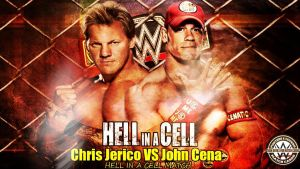Hell In A Cell 2014  Match Card by MohamedMXW