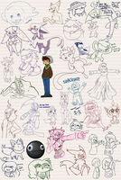 Doodles Dumps 30 by Dipschtick
