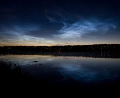 Noctilucent Clouds 2 by juhku by Scapes-club