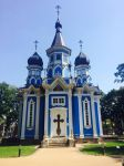 Lithuania Russian Orthodox Church Entrance by Jussetta-Stock