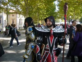 Cosplay Warcraft - Medivh - Paladin Blood Elf by Lord-Omega83