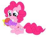 Itty Bit and Momma Ponkee by Ponkee