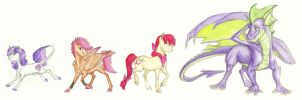 Headcanon: The CMC by Earthsong9405