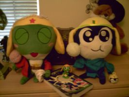 my sgt frog collection by WolffangMireiyu
