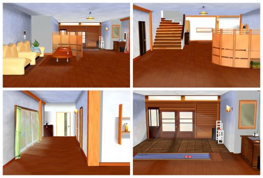 MMD Entrance Hall by arisumatio