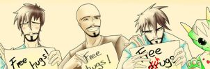 Free hugs: Happy Valentine's day! by Annkh-Redox