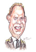 Tom Hanks - Caricature by libran005