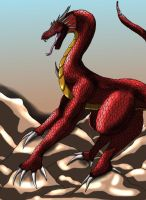 Dragon for Estme by SteelFanged