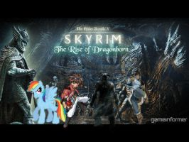 Skyrim DLC: The rise of dragonborns by JohnnyTheEpicChhun