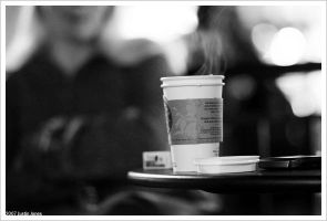 coffee and conversation by digimatte
