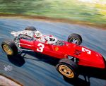 Mike Parkes , Ferrari 312 by JosefVonDoom
