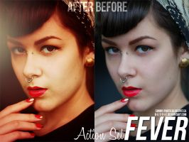 Fever: Action by B-e-t-t-i-e