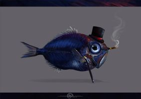 Mr.Fish by AlsaresLynx