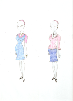 Beatrice's Maternity Outfits by KOlover12