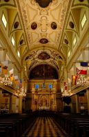 St. Louis Cathedral - interior by maxlake2