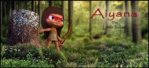 Aiyana - The Little Indian by srinboden