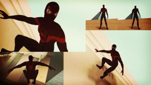 Miles Morales: Ultimate Spider GTA SA Skin by robinosuke
